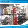 Champagne Colors 4 Colour Film Flexographic Printing Machine High Speed