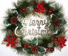 OEM New Product Christmas Wreath and Garland for Hang Decoration