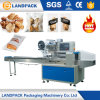 Flow Automatic Pillow Bag Bakery Bread Packaging Machinery