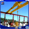 Construction Machinery Electric Double Girder Overhead Crane with Electric Hoist