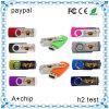 8GB Plastic Swivel USB Flash Drive/ Pen Drive, Rotate USB Memory