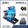 Defy Brand, China Manufacturer of Xy-200 200m Depth Skid Mounted Water Borehole Drilling Rig for Sale