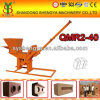 Clay/Soil/Earth/Mud Manual Interlocking Brick Machine, Block Machine by Hand Pressed Qmr2-40