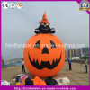 Hot Sale Inflatable Black Cat Pumpkin for Halloween Decoration