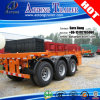 Used Second Hand 2*20FT/40FT Container Chassis Truck Semi Trailer