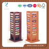 Floor Standing Rotating 4 Sided Magazine Rack