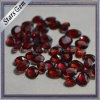 Fashion Jewelry Beads Oval Checker Cut Natural Garnet