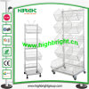 5 Tier Wire Basket Rack for Promotion