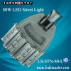 High Output LED Street Light 80W, with Meanwell Driver