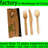 Natural Wooden Disposable Cutlery Knife Fork Spoon