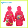 Cute Long Sleeve Girl′s Raincoat School Raincoat Rpy-004