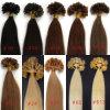 100%Brazilian Virgin Human Hair U Tip Pre-Bonded Hair Extensions