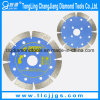 Dry Hot Pressed Diamond Segment Saw Blade for Granite