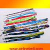 Fashion Woven Printed Lanyard with Aircraft Buckle Bottle (EDB-13020957)