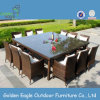 Rattan Furniture Restaurant Table Square Design