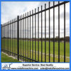 Galvanised Steel 1.8m High Security Fencing Fence Panels Black