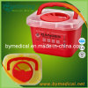 2.7L Sharps Waste Container with Handle F3