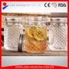 Wholesale Embossed Glass Mason Jar