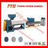 Conical Double-Screw Hot-Cutting PVC Plastic Granulator Making Recycled