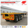 2017 Hot Sale 3 Axles 40FT Container Flatbed Utility Semi Trailer