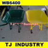 Yellow Orange Green Color Wb6400 Wheel Barrow
