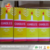 Paraffin Wax White Candle Packed in Yellow Box Hot Sale to Ghana