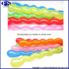 #Spiral# 40PCS Card-Packing 7 Knob 26cm Spiral Shaped Twisting Latex Balloons