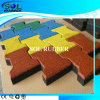 High Quality Brght EPDM Dog Bone Paver Rubber Tile