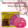High Quality Popular Skin Care Collagen Crystal Series Red Wine Facial Mask Whitening and Moisturizing Facial Mask