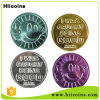 OEM Plastic Token Coins Made in China Wholesale Embossed Plastic Token Coins