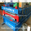 Double Layer Steel Tile Roll Forming Machine for Roofing Sheet