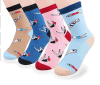 Custom Fashionable Cartoon Sock in Various Designs and Sizes