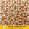 Travertino Stone Mosaic with Crystal Glass Mosaic Tile 03