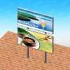 Advertising Media Mupi Outdoor Signage Light Box Display