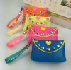 Ladies Fashion Silicone Coin Purse/Women Wallet