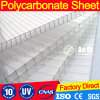 Polycarbonate Curved Greenhouse Roof Sheet