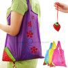 Eco Promotional Foldable Storage Handbag Strawberry Shopping Bag