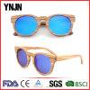 Natural No Logo Fashion Wood Sunglasses (YJ-MB480)