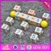 2017 Wholesale Baby Wooden Learning Blocks, New Design Kids Wooden Learning Blocks, Best Children Wooden Learning Blocks W12f017