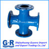 Ductile Iron Fitting with Flanged Cross for En545/En598