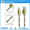 1m Nylon Braided Type-C Data Cable for Android Mobliephone
