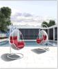 Best Sale Outdoor Furniture Rattan Swing in Garden