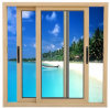 Aluminium Alloy Horizontal Sliding Sash Glass Window