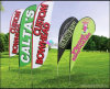 Outdoor Advertising Event Flag Banner Graphic Display