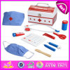 Lastest Fun Colorful Wooden Doctor Set Toy for Kids, Nice Design Educational Toy Doctor Set Toy for Children W10d111