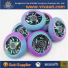 Hot Sale CNC Colorful Core Scooter Wheel