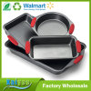 Nonstick Baking Pans Set of 4 - Premium Bakeware Set
