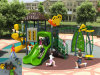 Kaiqi Small Forest Themed High Quality Children′s Playground (KQ10100A)