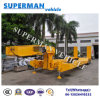 100t China Flexible Lowbed Heavy Crane Trailer