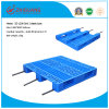 EU Standard Pallet 1200*800*160mm HDPE Plastic Tray Heavy Duty Rackable Plastic Pallet with 3 Runners for Warehouse Products